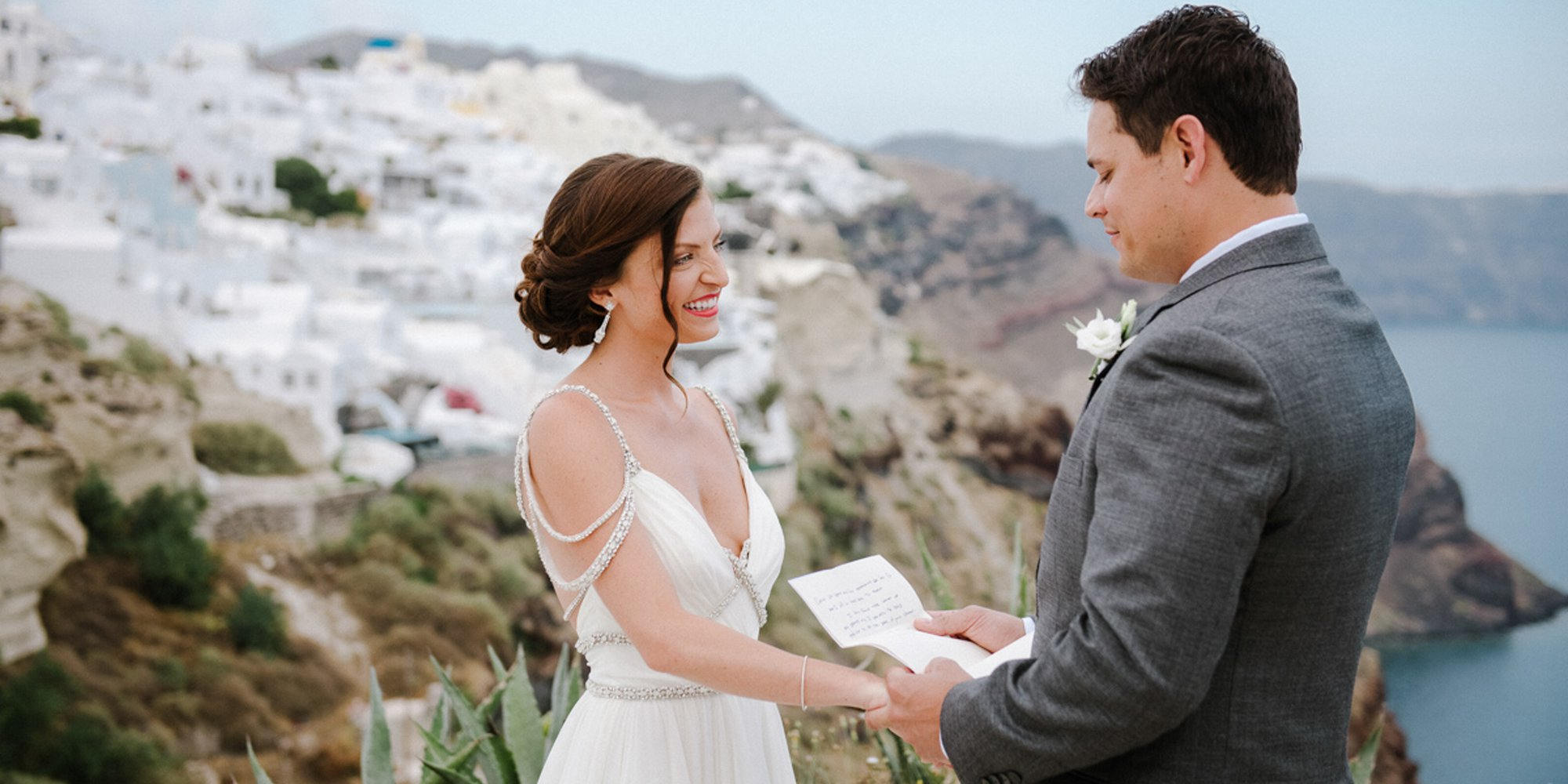 Shauna Amp Steve S Wedding At Andronis Luxury Suites In Oia